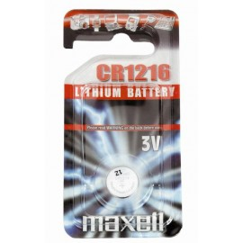 MAXELL Pile Bouton Lithium - CR1216 Standard
