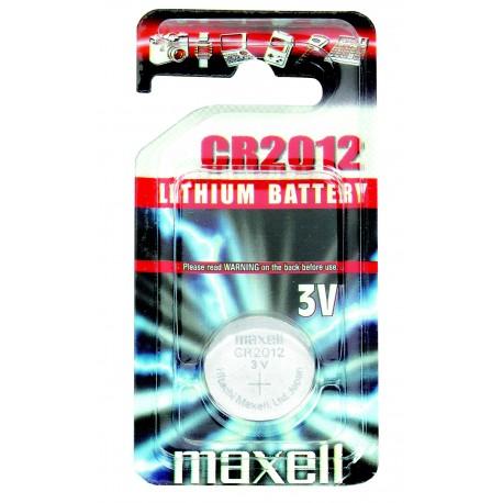 MAXELL Pile Bouton Lithium - CR2012 Standard