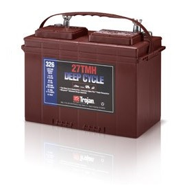 TROJAN 12V - 115Ah - 27TMH - DEEP CYCLE ACIDE
