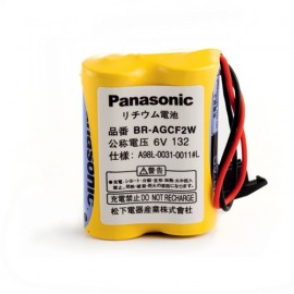 PANASONIC PACK Pile Lithium BRA - 6V - 1800mAh + connecteur noir