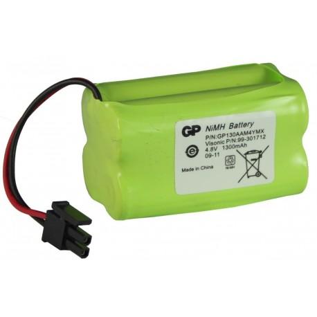Batterie Alarme Compatible VISONIC - AA – 4.8V - 1300mAh + Connecteur