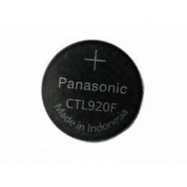 PANASONIC CTL920 - Pile rechargeable pour montre energie solaire (Casio...)