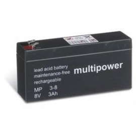 Multipower 8V - 3h - compatible Dryfit A200 - A208/2.5 S