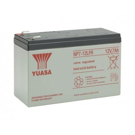 YUASA 12V - 7.0Ah - NP7-12L FR - AGM - S65