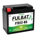 Batterie moto FTX12-BS FULBAT GEL - 12V - 10.5Ah